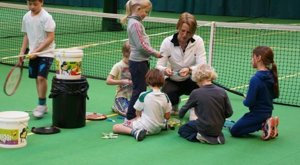 tennisles Fablotennishal jeugd