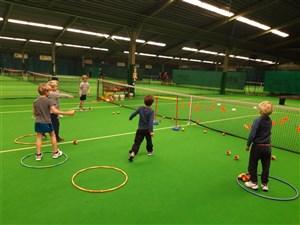 Tennisles kabouters/jeugd WINTER
